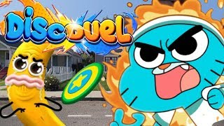 Amazing World of Gumball Disc Duel Full Gameplay Walkthrough