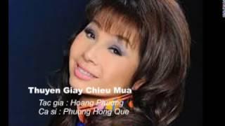 Thuyen giay chieu mua - Phuong Hong Que
