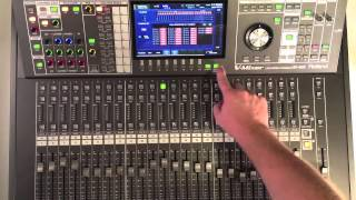 Roland M-480 V-Mixer: Introduction to Front Panel
