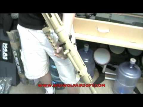 Ares Cheytac Intervention M200 Video Review - RedWolf Airsoft - RWTV