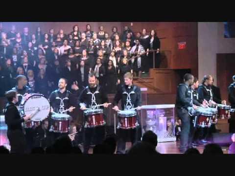 Little Drummer Boy - MP Choir & The Atlanta Falcon's Drumline