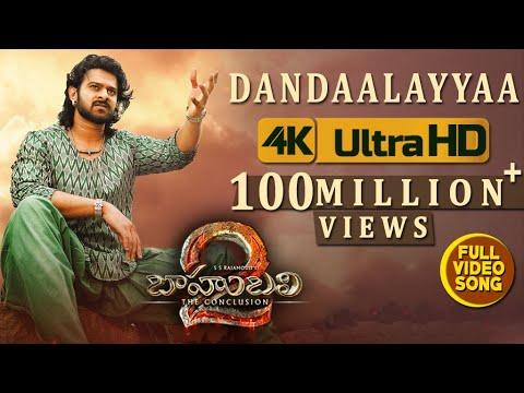 Baahubali 2  Songs Telugu | Dandaalayyaa Full  Song | Prabhas,anushka|bahubali  Songs