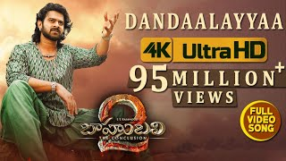 Baahubali 2 Video Songs Telugu | Dandaalayyaa Full Video Song | Prabhas,Anushka|Bahubali Video Songs