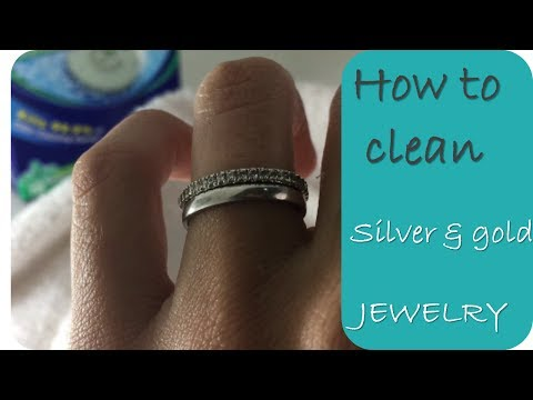 Clean Jewelry – How to clean gold and silver jewelry
