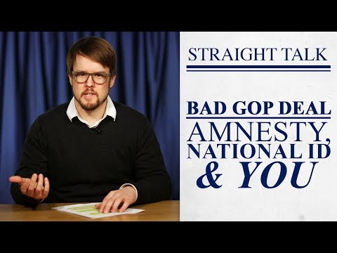 Will GOP Trade Amnesty for National ID?