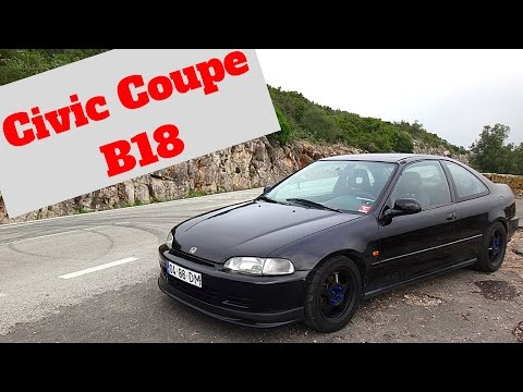 Honda Civic Coupe B18 Portugal Stock and Modified Car Reviews