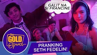 Pranking Seth Fedelin | Andrea at Francine, nag-away?