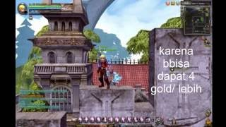 Dragon Nest INA - Cara Farming GOLD CAP 93