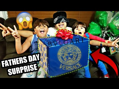 SURPRISING DAD WITH HIS FIRST BVLGARI FRAGRANCE | HAPPY FATHER'S DAY | AlexLifeVlogs