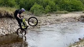 Danny macaskill - santa cruz bike in ...