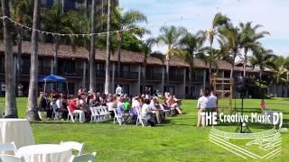 Catamaran Hotel - Wedding Ceremony (Funny Bride's Entrance Song)