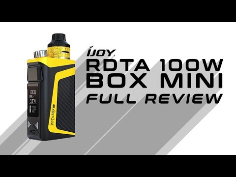 """Here's A Great """"On-The-Go"""" Solution - The iJoy RDTA Mini Full Review"""