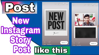 How to put new post on Instagram story in Hindi 2019