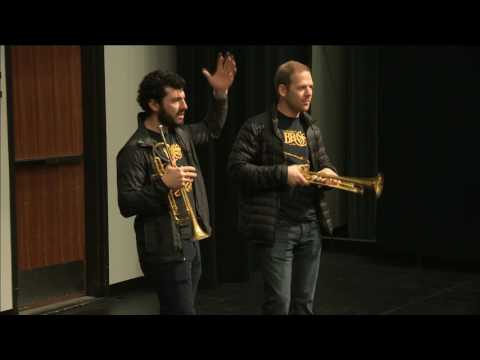 Caleb Hudson and Chris Coletti Master Class 2017