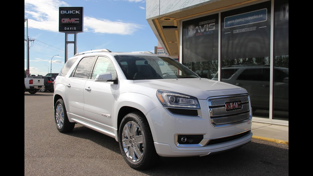 brand new 2016 gmc acadia denali for sale in medicine hat ab youtube. Black Bedroom Furniture Sets. Home Design Ideas