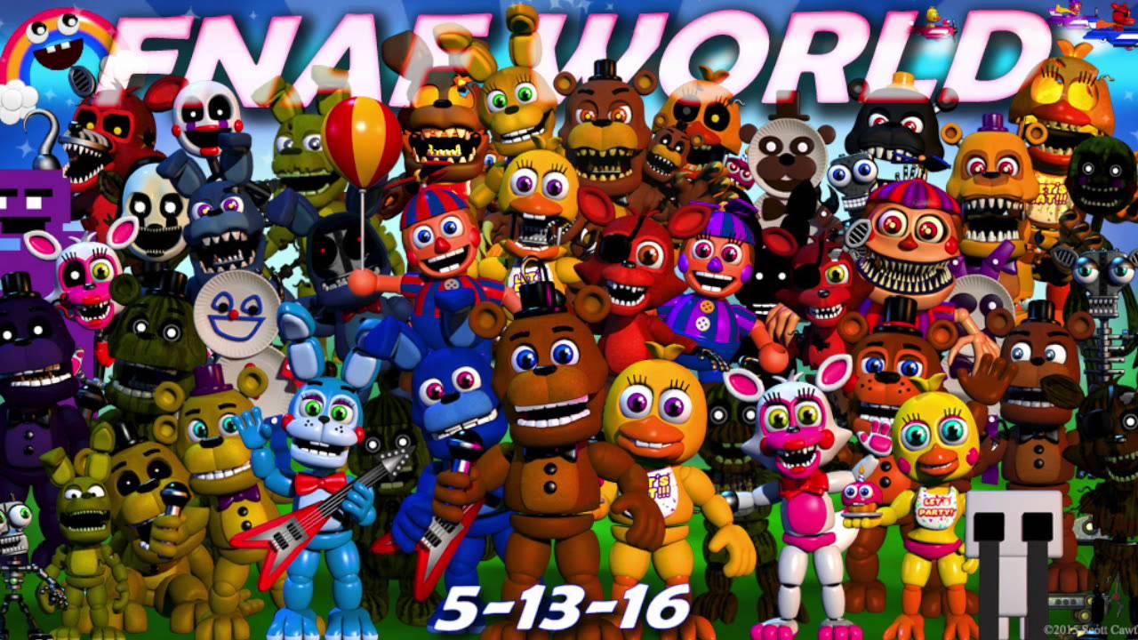 FNaF World Update 2 OST- Halloween World - YouTube