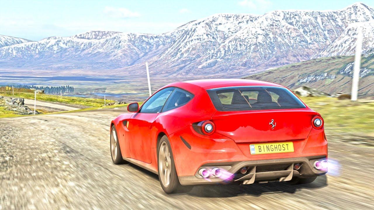 Forza Horizon 4 - Ferrari FF - YouTube