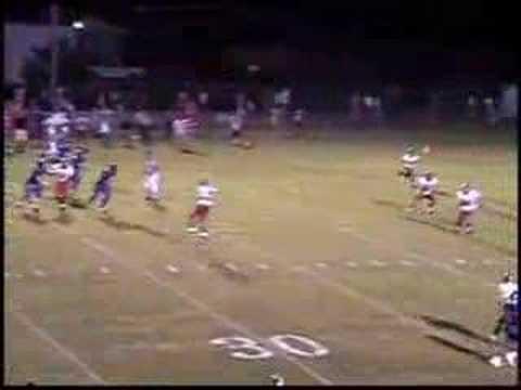 Wes Jenkins 2007 Football Highlight