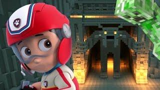 РАЙДЕР наткнулся на КРИППЕРА в МАЙНКРАФТЕ - остров ЗОМБИ. Minecraft #16 Развивающий мультик