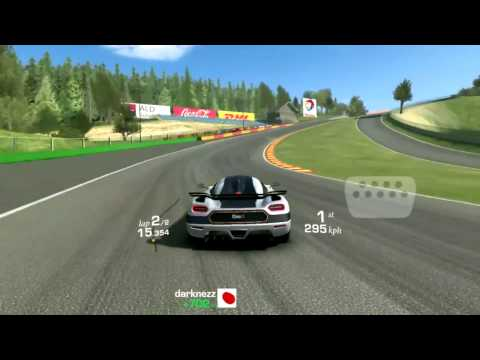 Real Racing 3: Koenigsegg One:1 Spa Hot Lap