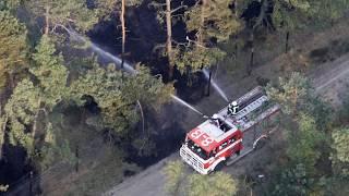Hoe voorkomt de brandweer een natuurbrand?