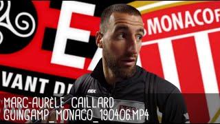 MARC-AURÈLE CAILLARD RÉAGIT APRÈS GUINGAMP - MONACO (1-1) / Ligue 1 - 6 avril 2019