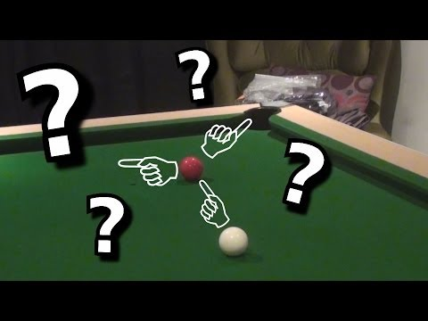 Pool Tutorial- Where IS the Cue Ball Going?