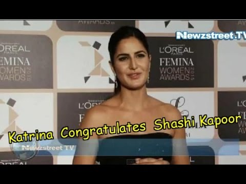 Katrina Congratulates Future Grand Father-in-Law Shashi Kapoor