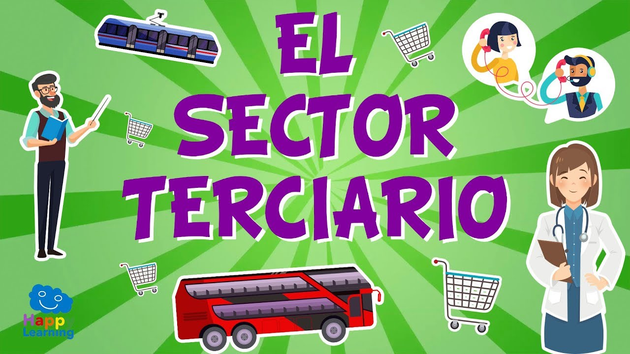 Download EL SECTOR TERCIARIO. El trabajo y su clasificación  | Vídeos Educativos para niños