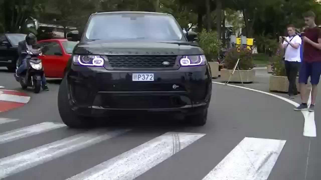 loud range rover sport svr full throttle acceleration. Black Bedroom Furniture Sets. Home Design Ideas
