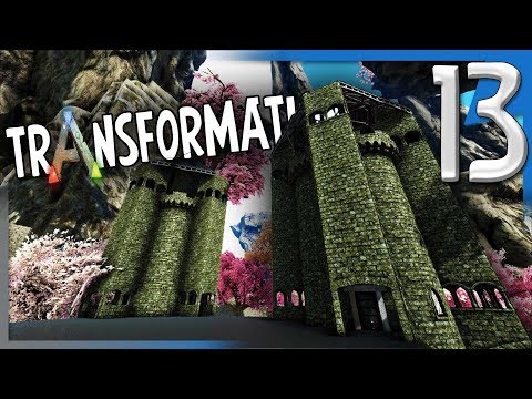 BUILDING AND FINISHING THE TOWERS! | ARK  Survival Evolved Modded Transformation E13