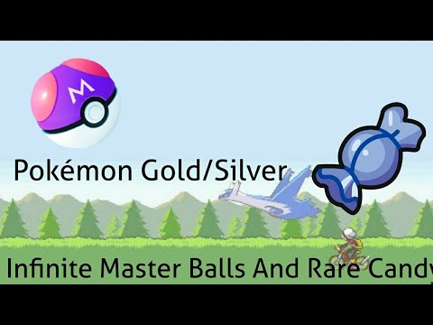 Pokémon Gold/Silver - Infinite Master Balls/Rare Candy Cheat!