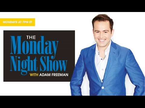 The Monday Night Show with Adam Freeman 10.12.2015 - 8 PM