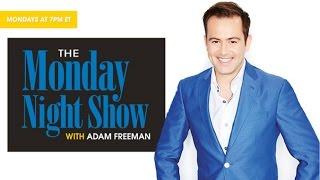 The Monday Night Show with Adam Freeman 10.12.2015 - 8 PM