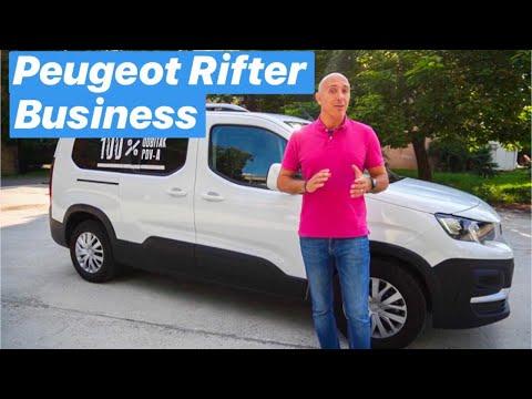 Najbolji dostavnjak za male tvrtke? - Peugeot Rifter Business - testirao Mato Pavličević