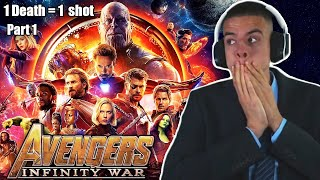 AVENGERS: INFINITY WAR is INSANE! Movie Reaction! FIRST TIME WATCHING! (Part 1/2)