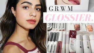 GRWM: FRESH FACED MAKEUP W/ GLOSSIER