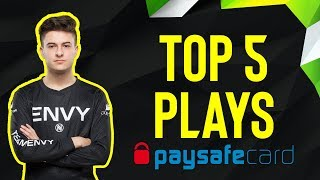 Nifty is HUGE in QUAD OVERTIME?! - ESL Pro League Top Plays by Paysafecard