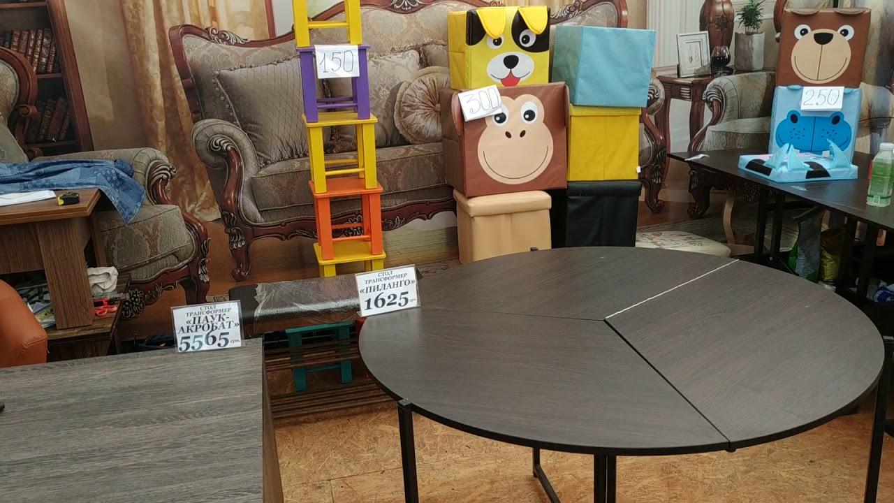 Столы - трансформеры на Сорочинской ярмарке 2018.