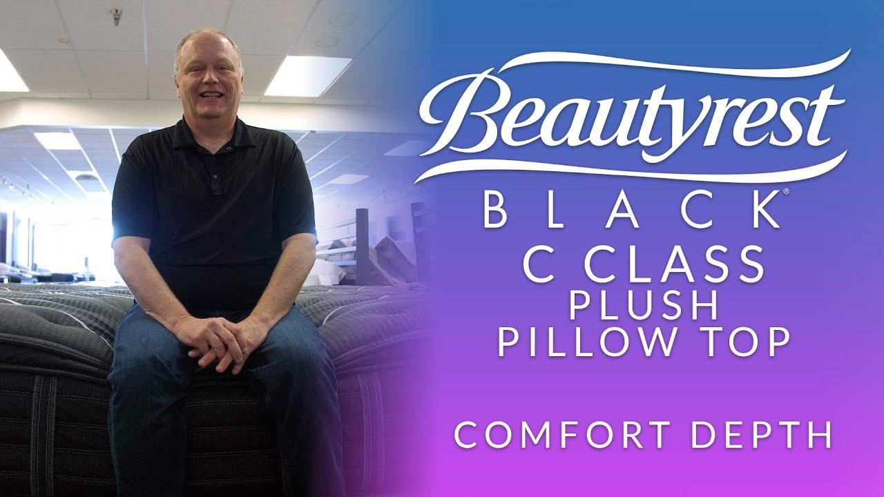 beautyrest black c class plush