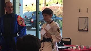 Black Belt Ceremony - Noah Ladrech (Dec 8, 2018)