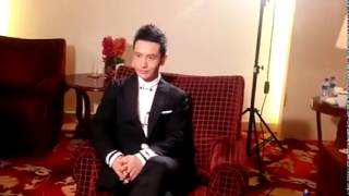 Huang Xiao Ming 黄晓明 | Huang Xiaoming promoting  Crimes of Passion  一场风花雪月的事
