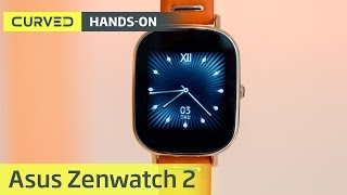 Asus Zenwatch 2 im Hands-On   deutsch