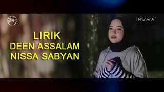DEEN ASSALAM SULAEMAN AL MUGHNY cover by SABYAN feat el Alice