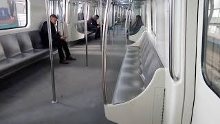 Delhi Metro Blue line | Dwarka sector 21 - Rajeev Chowk | Inside view of Delhi Metro