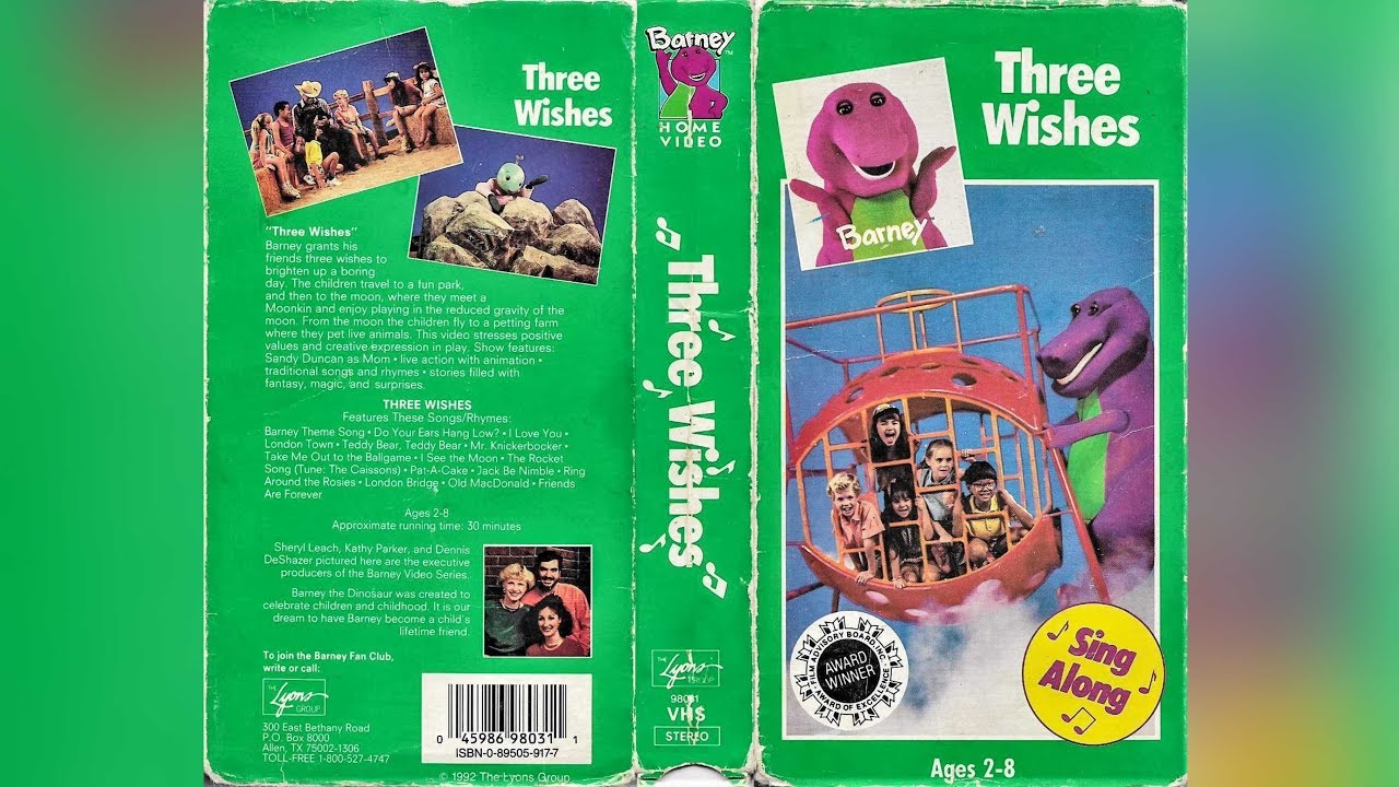 Three Wishes (1991-1992 VHS) Full In HD
