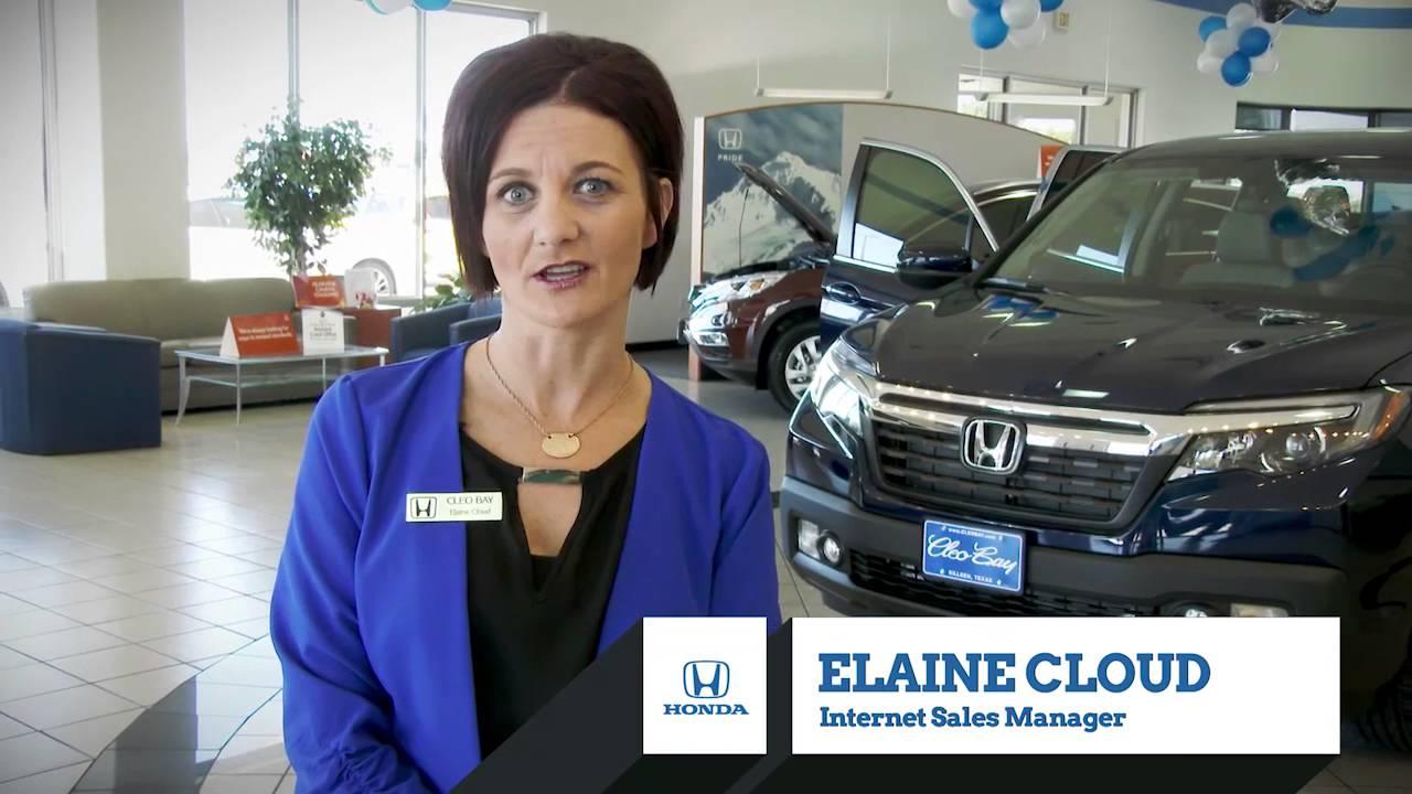 Cleo Bay Honda >> Come See Elaine At Cleo Bay Honda In Killeen Texas