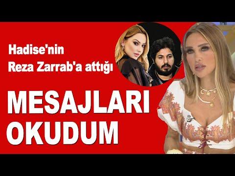 Seren Serengil açıkladı! Hadise'nin Reza Zarrab'a attığı mesajları okudum