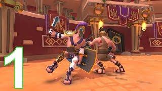 Gladiator Heroes Clan War Games - IOS, Android Gameplay - Part 1 screenshot 2