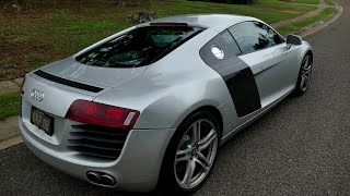 Audi R8 full test drive and review!